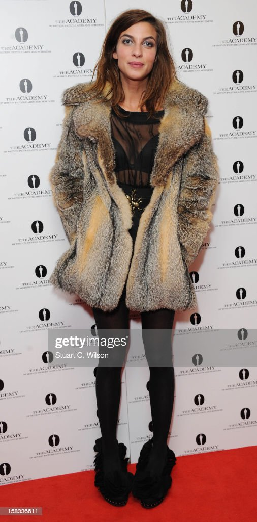 Natalia Tena attends as The Academy of Motion Picture Arts and Sciences honours director Pedro Almodovar at Curzon Soho on December 13, 2012 in London, England.