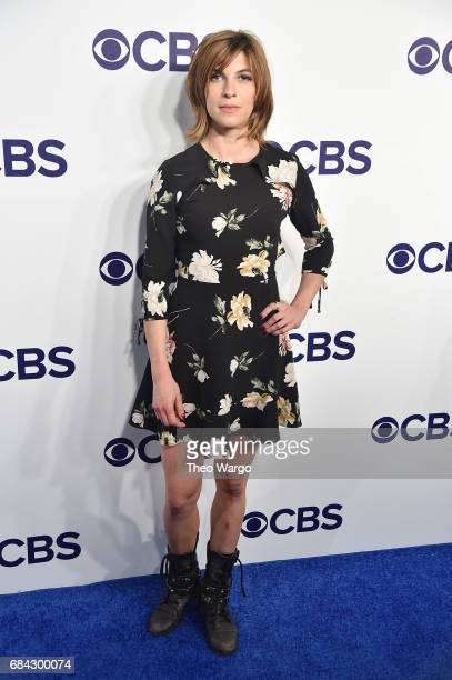 Natalia Tena attends the 2017 CBS Upfront on May 17 2017 in New York City