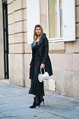 Street Style - Paris Fashion Week - Haute Couture...