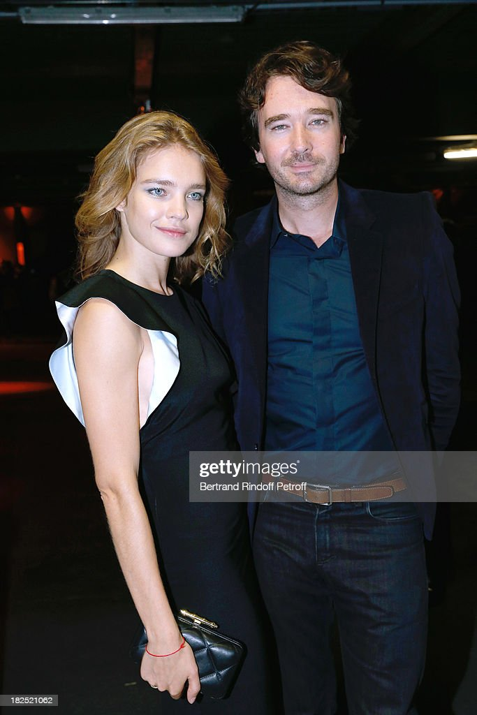 <a gi-track='captionPersonalityLinkClicked' href=/galleries/search?phrase=Natalia+Vodianova&family=editorial&specificpeople=203265 ng-click='$event.stopPropagation()'>Natalia Vodianova</a> and <a gi-track='captionPersonalityLinkClicked' href=/galleries/search?phrase=Antoine+Arnault&family=editorial&specificpeople=676045 ng-click='$event.stopPropagation()'>Antoine Arnault</a> arriving at Givenchy show as part of the Paris Fashion Week Womenswear Spring/Summer 2014, held at 'la Halle Freyssinet' on September 29, 2013 in Paris, France.