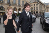 Natalia Vodianova and Antoine Arnault attend Louis Vuitton New Boutique Opening as part of Paris HauteCouture Fashion Week Fall / Winter 2013 at...