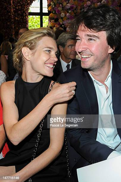 Natalia Vodianova and Antoine Arnault attend the Christian Dior HauteCouture show as part of Paris Fashion Week Fall / Winter 2013 on July 2 2012 in...