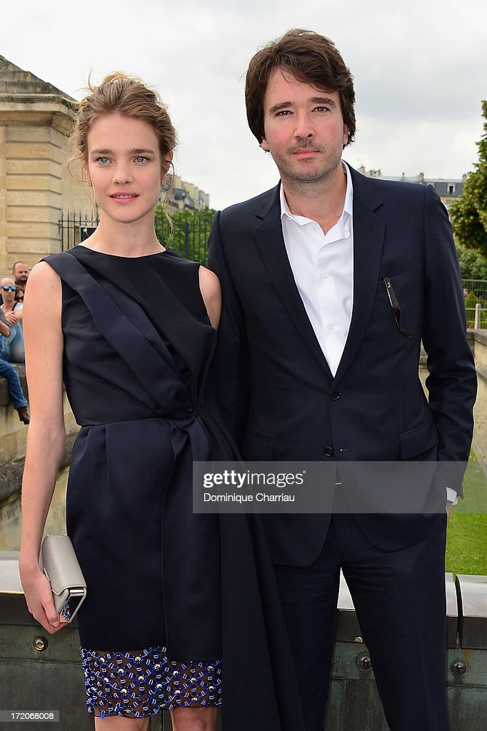 <a gi-track='captionPersonalityLinkClicked' href=/galleries/search?phrase=Natalia+Vodianova&family=editorial&specificpeople=203265 ng-click='$event.stopPropagation()'>Natalia Vodianova</a> and <a gi-track='captionPersonalityLinkClicked' href=/galleries/search?phrase=Antoine+Arnault&family=editorial&specificpeople=676045 ng-click='$event.stopPropagation()'>Antoine Arnault</a> attend the Christian Dior show as part of Paris Fashion Week Haute-Couture Fall/Winter 2013-2014 at on July 1, 2013 in Paris, France.