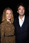 Natalia Vodianova and Antoine Arnault attend the Louis Vuitton show as part of the Paris Fashion Week Womenswear Spring/Summer 2015 on October 1 2014...