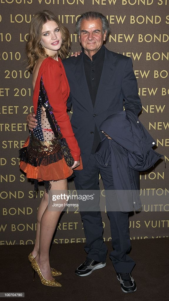 Natalia Vodianova and Patrick Dermachelier attend the after party for the launch of the Louis Vuitton Bond Street Maison on May 25 2010 in London...