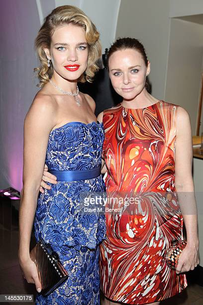 Natalia Vodianova and Stella McCartney attend The 2012 NSPCC Pop Art Ball co hosted by Natalia Vodianova and Stella McCartney in aid of the NSPCC's...