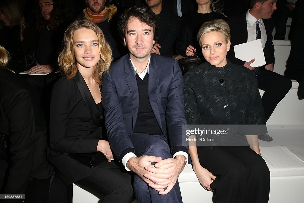 <a gi-track='captionPersonalityLinkClicked' href=/galleries/search?phrase=Natalia+Vodianova&family=editorial&specificpeople=203265 ng-click='$event.stopPropagation()'>Natalia Vodianova</a>, <a gi-track='captionPersonalityLinkClicked' href=/galleries/search?phrase=Antoine+Arnault&family=editorial&specificpeople=676045 ng-click='$event.stopPropagation()'>Antoine Arnault</a> and Princess <a gi-track='captionPersonalityLinkClicked' href=/galleries/search?phrase=Charlene+-+Princess+of+Monaco&family=editorial&specificpeople=726115 ng-click='$event.stopPropagation()'>Charlene</a> of Monaco attend the Christian Dior Spring/Summer 2013 Haute-Couture show as part of Paris Fashion Week at on January 21, 2013 in Paris, France.