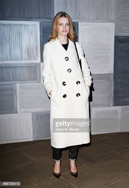 Natalia Vodianova arrives at a party hosted by Instagram's Kevin Systrom and Jamie Oliver This is their second annual private party taking place at...