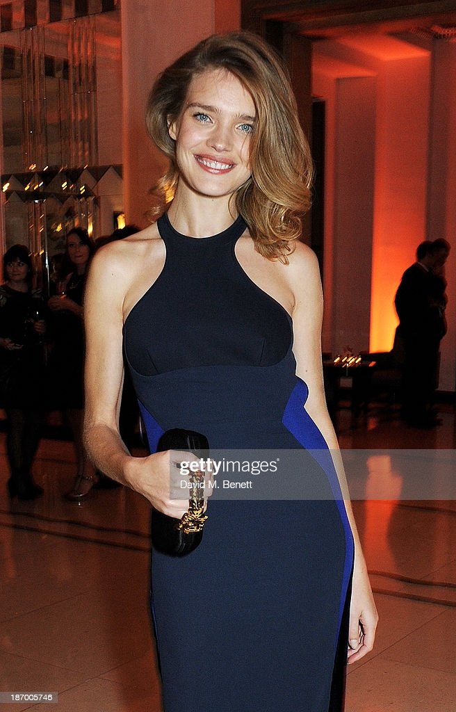 Natalia Vodianova arrives at the Harper's Bazaar Women of the Year awards at Claridge's Hotel on November 5, 2013 in London, England.