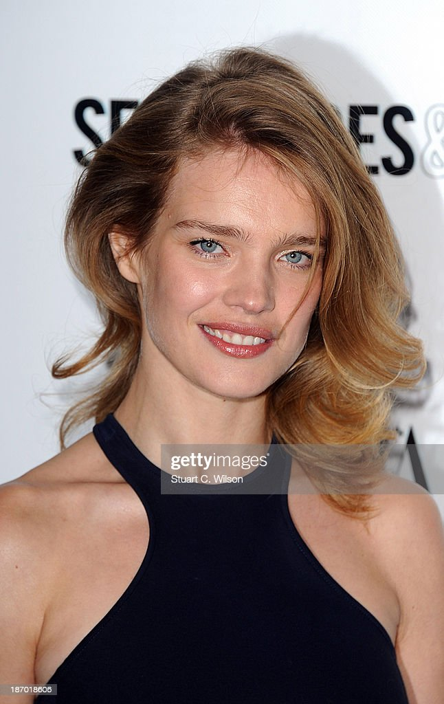 Natalia Vodianova arrives for the Harpers Bazaar Women Of The Year Awards at Claridges Hotel on November 05, 2013 in London, England.