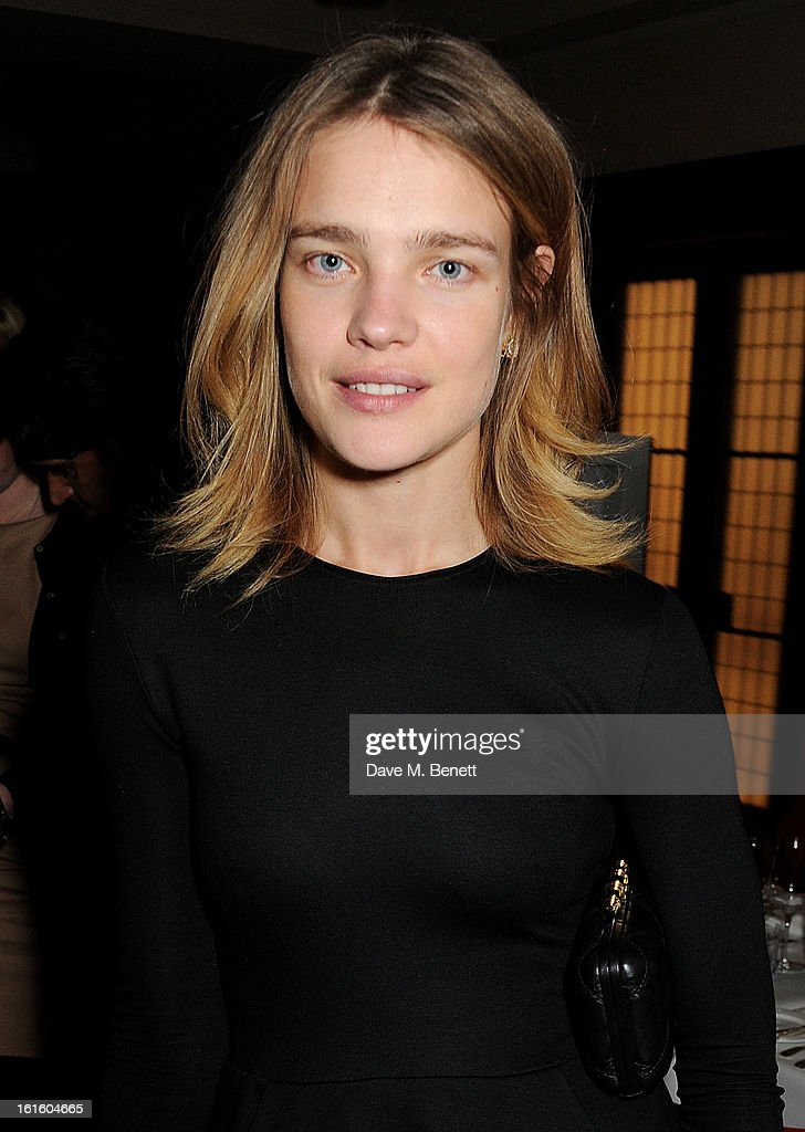<a gi-track='captionPersonalityLinkClicked' href=/galleries/search?phrase=Natalia+Vodianova&family=editorial&specificpeople=203265 ng-click='$event.stopPropagation()'>Natalia Vodianova</a> attends a private dinner hosted by Lucy Yeomans celebrating Jason Brooks at Cafe Royal on February 12, 2013 in London, England.