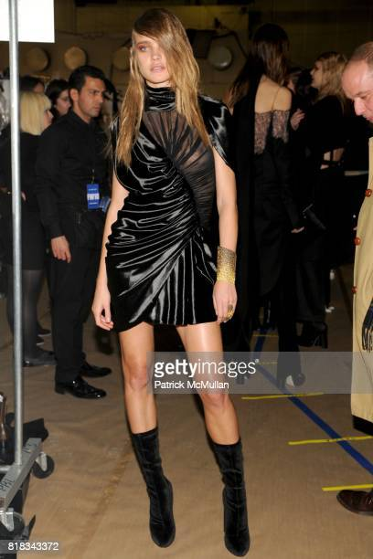 Natalia Vodianova attends ALEXANDER WANG Fall 2010 Collection at Pier 94 on February 13 2010 in New York City