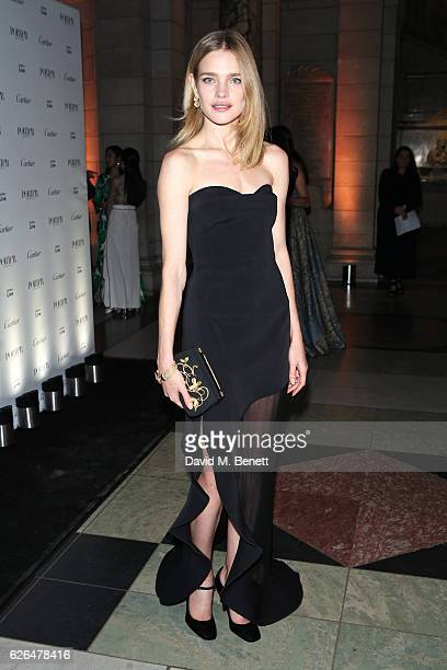 Natalia Vodianova attends as PORTER hosts a special performance of Letters Live in celebration of their Incredible Women of 2016 at The VA on...