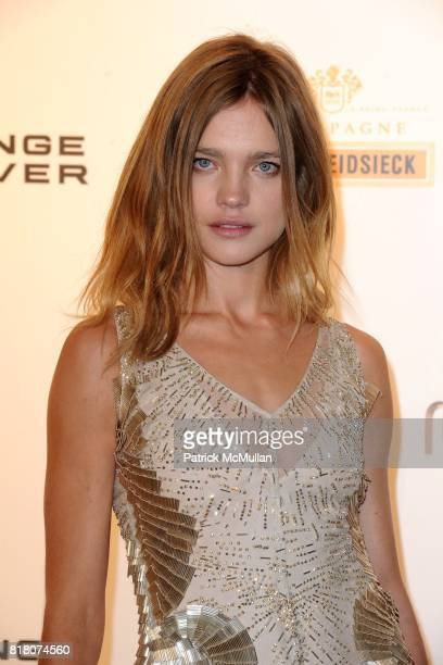 Natalia Vodianova attends ROBERTO CAVALLI 40th Anniversary Event CONTACT SIPA PRESS FOR SALES at Les BeauxArts de Paris on September 29 2010 in Paris...