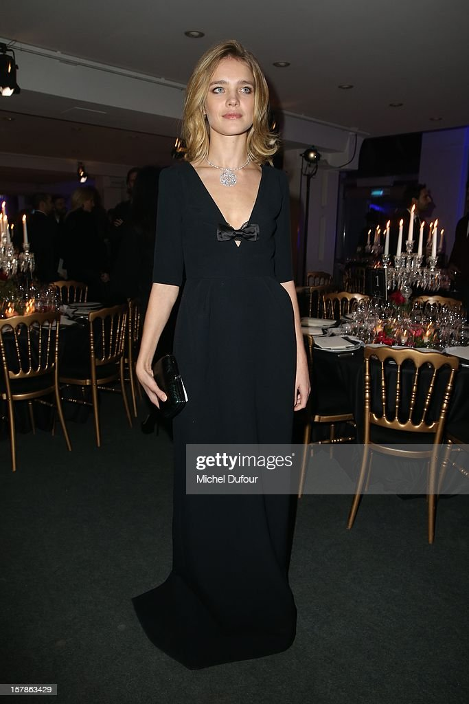 Natalia Vodianova attends the Babeth Djian Hosts Dinner For Rwanda To The Benefit Of A.E.M. on December 6, 2012 in Paris, France.