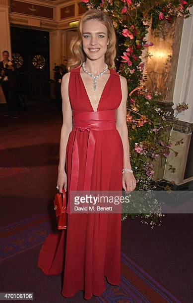 Natalia Vodianova attends The Backstage Gala in aid of The Naked Heart Foundation at The London Coliseum on April 17 2015 in London England
