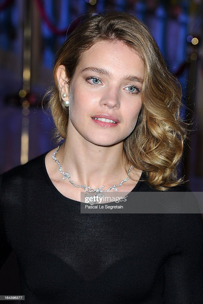 Natalia Vodianova attends the 'Bal De La Rose Du Rocher' in aid of the Fondation Princess Grace on the 150th Anniversary of the SBM at Sporting...
