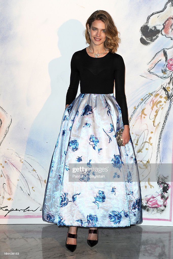 <a gi-track='captionPersonalityLinkClicked' href=/galleries/search?phrase=Natalia+Vodianova&family=editorial&specificpeople=203265 ng-click='$event.stopPropagation()'>Natalia Vodianova</a> attends the 'Bal De La Rose Du Rocher' in aid of the Fondation Princess Grace on the 150th Anniversary of the SBM at Sporting Monte-Carlo on March 23, 2013 in Monte-Carlo, Monaco.