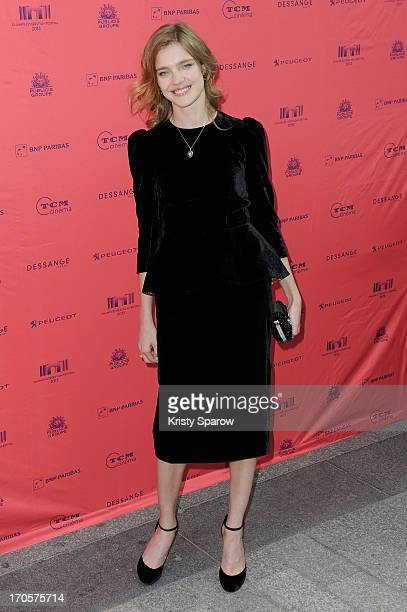 Natalia Vodianova attends the 'Belle Du Seigneur' premiere as part of The Champs Elysees Film Festival 2013 at Gaumont Champs Elysees on June 14 2013...