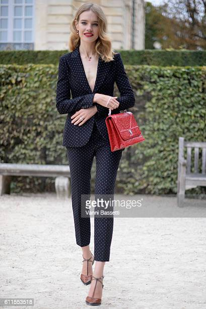 Natalia Vodianova attends the Christian Dior show as part of the Paris Fashion Week Womenswear Spring/Summer 2017 on September 30 2016 in Paris France