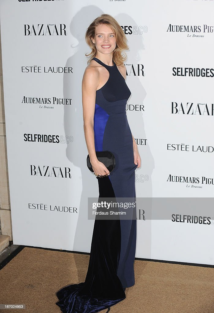 Natalia Vodianova attends the Harpers Bazaar Women of the Year awards at Claridge's Hotel on November 5, 2013 in London, England.