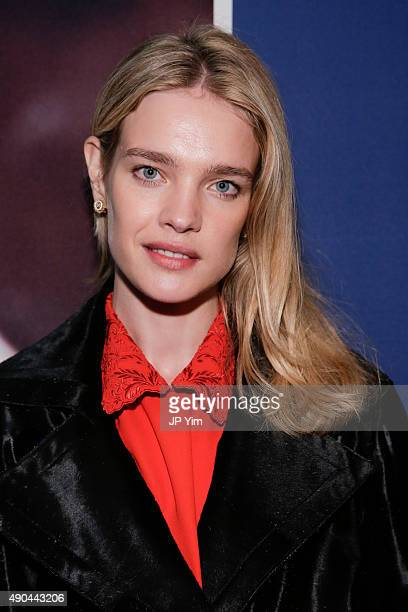 Natalia Vodianova attends the CGI launch of ELBI at the Opening Plenary Session The Future of Impact during the second day of the 2015 Clinton Global...