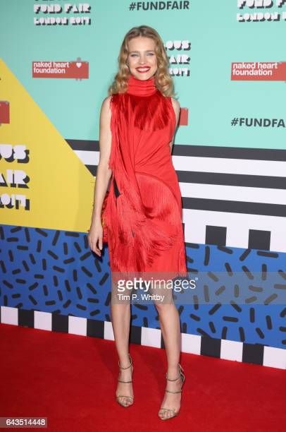 Natalia Vodianova attends The Naked Heart Foundation's London's Fabulous Fund Fair on February 21 2017 in London United Kingdom