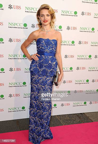 Natalia Vodianova attends the NSPCC Pop Art Ball at Banqueting House on May 24 2012 in London England