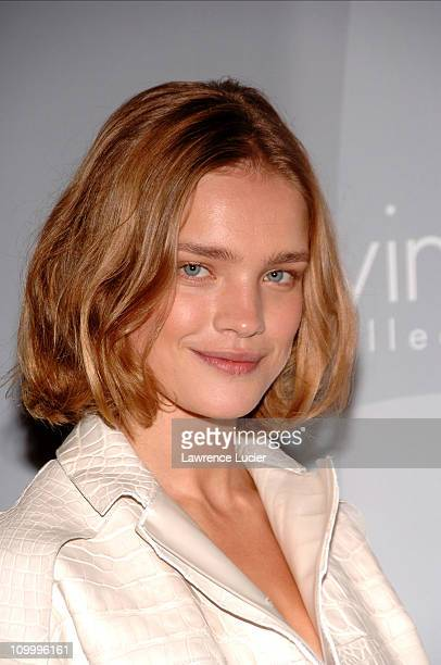 Natalia Vodianova during Olympus Fashion Week Spring 2007 Calvin Klein After Party Hosted by Drew Barrymore and Maggie Gyllenhaal at 7 World Trade...