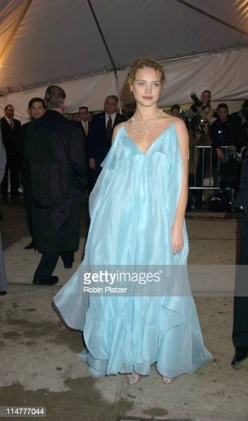 Natalia Vodianova during The Costume Institute's Gala Celebrating 'Chanel' at The Metropolitan Museum of Art in New York City, New York, United States.