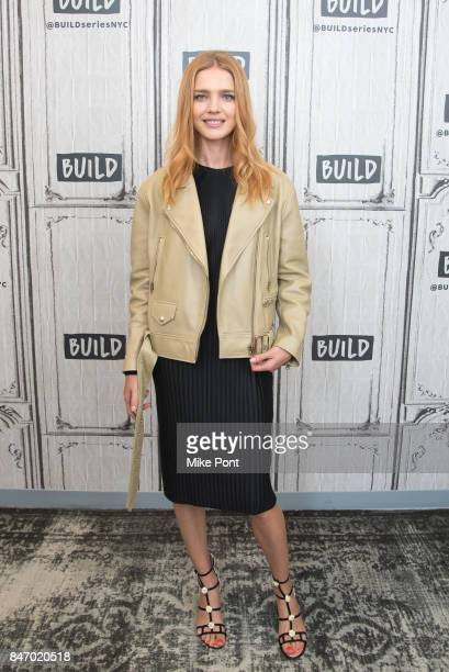 Natalia Vodianova visits Build Studio to discuss The Flo App at Build Studio on September 14 2017 in New York City