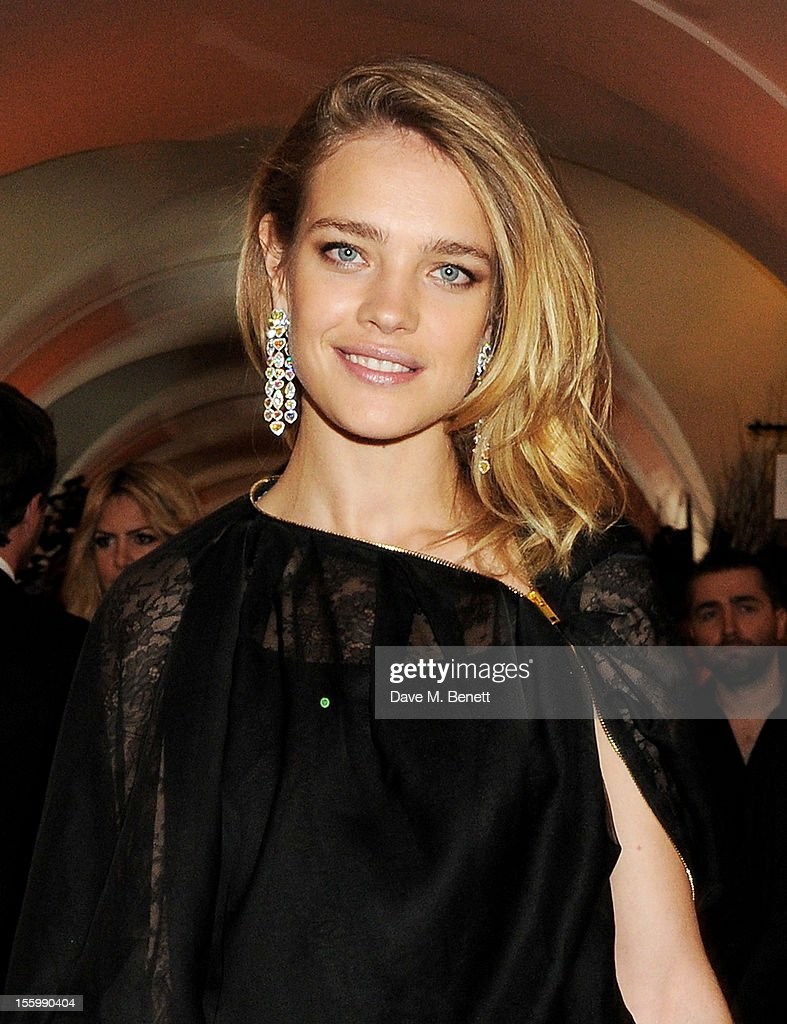 <a gi-track='captionPersonalityLinkClicked' href=/galleries/search?phrase=Natalia+Vodianova&family=editorial&specificpeople=203265 ng-click='$event.stopPropagation()'>Natalia Vodianova</a>, wearing Star Diamond, attends the Place For Peace dinner co-hosted by Ella Krasner and Forest Whitaker to support the Peace Earth Foundation in association with Star Diamond at Banqueting House on November 10, 2012 in London, England.