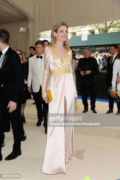 Natalia Voldianova attends 'Rei Kawakubo/Comme des Garcons Art Of The InBetween' Costume Institute Gala Arrivals at Metropolitan Museum of Art on May...