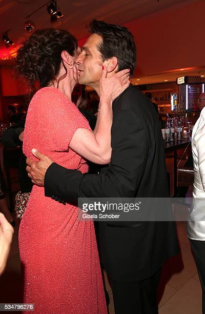 Natalia Woerner and her formerly husband Robert Seeliger during the Lola German Film Award 2016 after show party at Palais am Funkturm on May 27 2016...