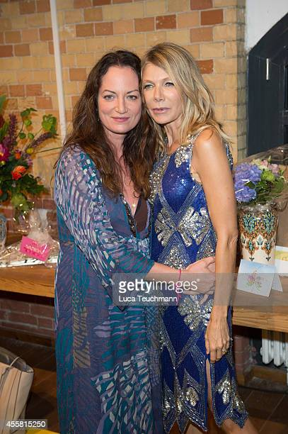 Natalia Woerner and Ursula Karven attend at the Ursula Karven Celebrates 50th Birthday on September 20 2014 in Berlin Germany