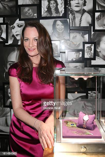 Natalia Woerner attends 'Glashuette Original presents new collection for women' during the 63rd Berlinale International Film Festival at...