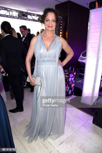 Natalia Woerner attends the Gloria Deutscher Kosmetikpreis 2017 at Hilton Hotel on March 31 2017 in Duesseldorf Germany