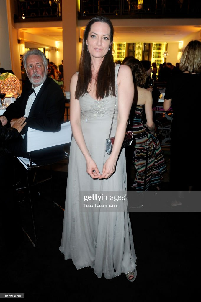 Natalia Woerner attends the Lola - German Film Award 2013 - Party at Friedrichstadt-Palast on April 26, 2013 in Berlin, Germany.