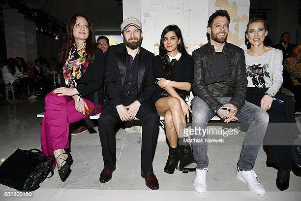 Natalia Woerner Christian Ulmen Collien UlmenFernandes Ken Duken and Marisa Leonie Bach attend the 'Key Looks The Show' presented by Fashion ID show...