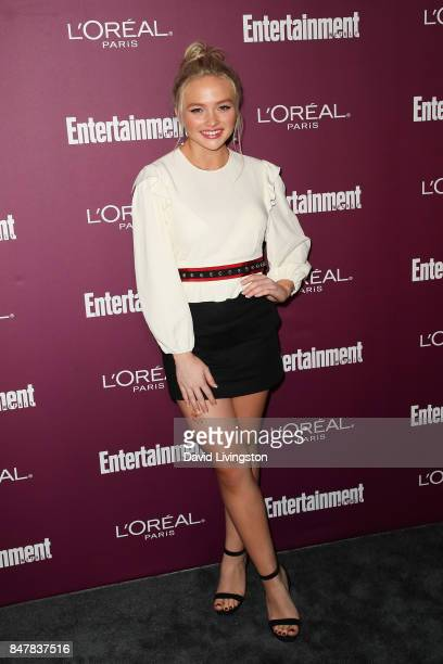 Natalie Alyn Lind attends the Entertainment Weekly's 2017 PreEmmy Party at the Sunset Tower Hotel on September 15 2017 in West Hollywood California