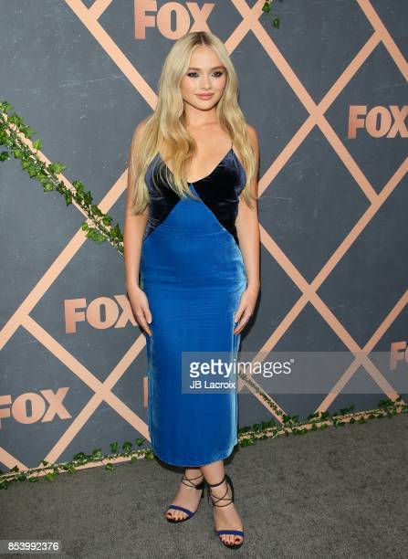 Natalie Alyn Lind attends the FOX Fall Party on September 25 2017 in Los Angeles California