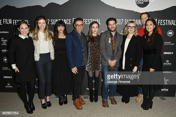 Natalie Andersen Brooklyn Decker Hannah Simone Fred Armisen Zoe ListerJones Adma Pally Majandra Delfino Trevor Groth and Angelique Cabral attend the...