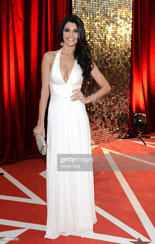 Natalie Anderson attends the British Soap Awards at Media City on May 18, 2013 in Manchester, England.
