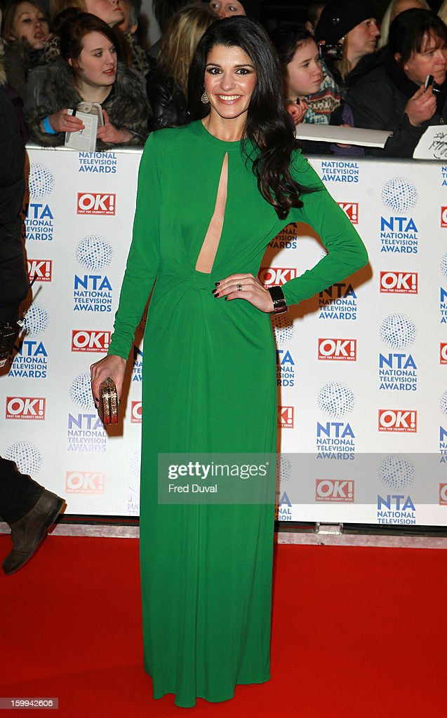 Natalie Anderson attends the National Television Awards at 02 Arena on January 23, 2013 in London, England.