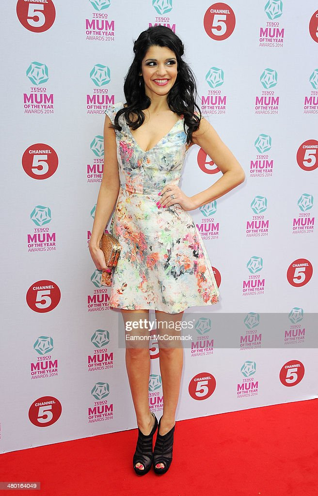 Natalie Anderson attends the Tesco Mum of the Year awards at The Savoy Hotel on March 23, 2014 in London, England.