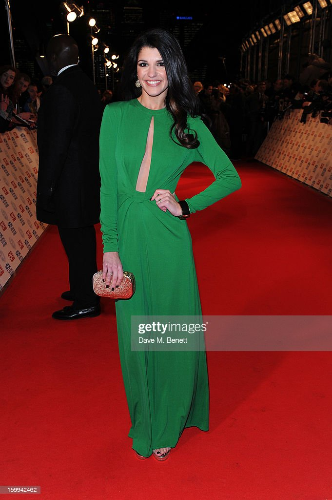 Natalie Anderson attends the the National Television Awards at 02 Arena on January 23, 2013 in London, England.