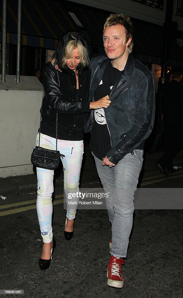<a gi-track='captionPersonalityLinkClicked' href=/galleries/search?phrase=Natalie+Appleton&family=editorial&specificpeople=213006 ng-click='$event.stopPropagation()'>Natalie Appleton</a> and Liam Howlett at The Little House club on May 4, 2013 in London, England.