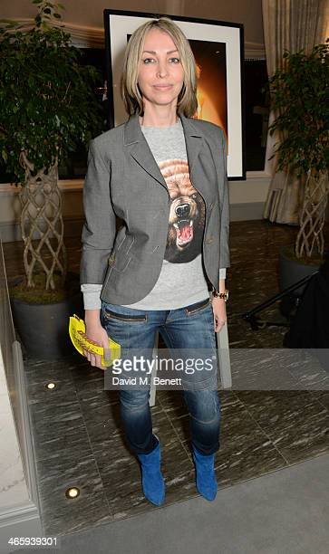 Natalie Appleton attends 'Kate Moss At The Savoy' an exhibition of never before seen photographers of Kate Moss presented by Zebra One Gallery at The...