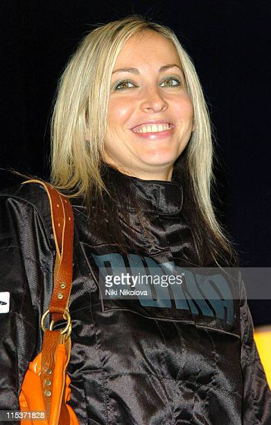 Natalie Appleton during 'Hell's Kitchen II' Day 2 Arrivals at The Old Truman Brewery in London Great Britain