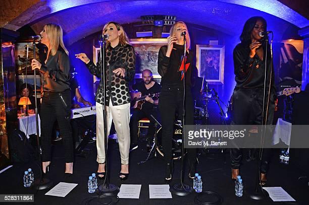 Natalie Appleton Melanie Blatt Nicole Appleton and Shaznay Lewis of All Saints perform at Annabel's on May 4 2016 in London England